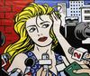 KAUFMAN, STEVE - HOMAGE TO LICHTENSTEIN TV STARS II