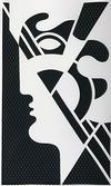 ROY  LICHTENSTEIN - MODERN HEAD #5